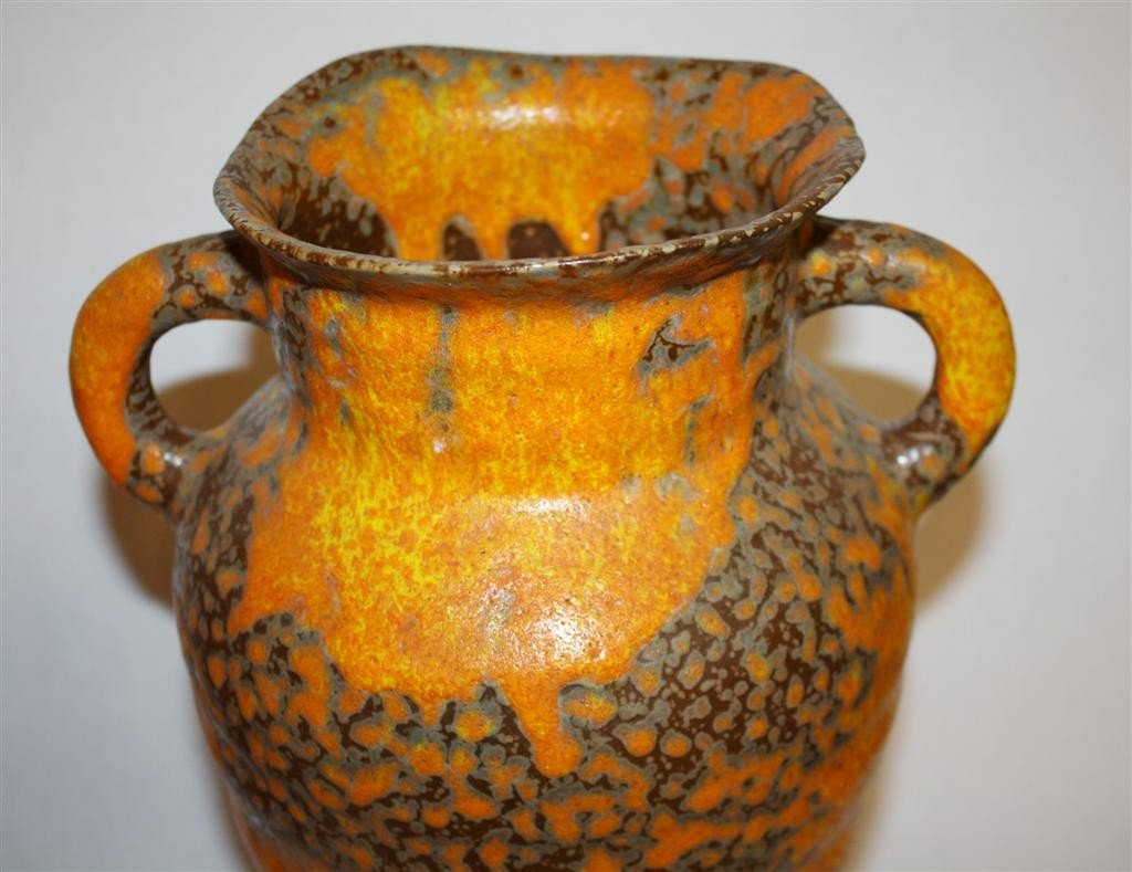 7A: Royal Haeger Pottery double handled vase