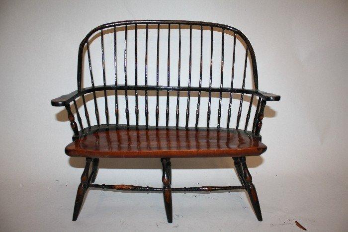 6: Miniature Windsor bench