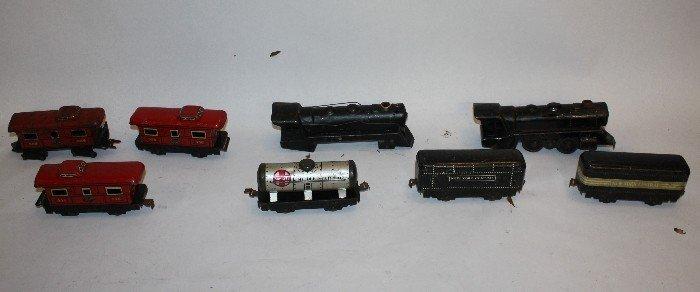 10: Lot of Vintage trains