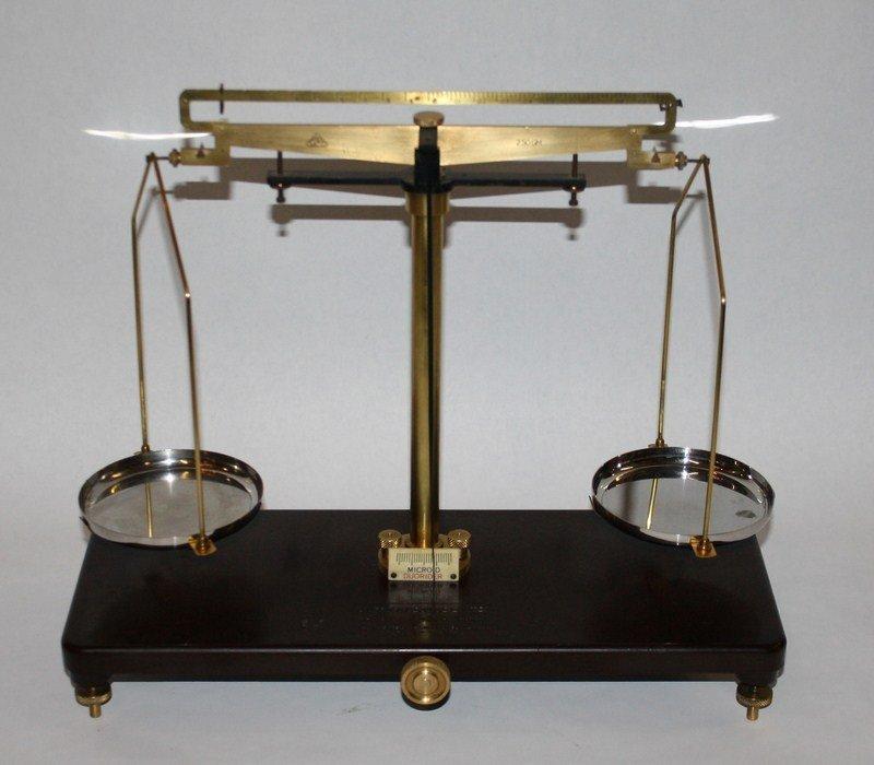 10: Griffin & George Ltd Jeweler's scale. England
