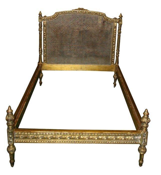16: Louis XVI cane bed