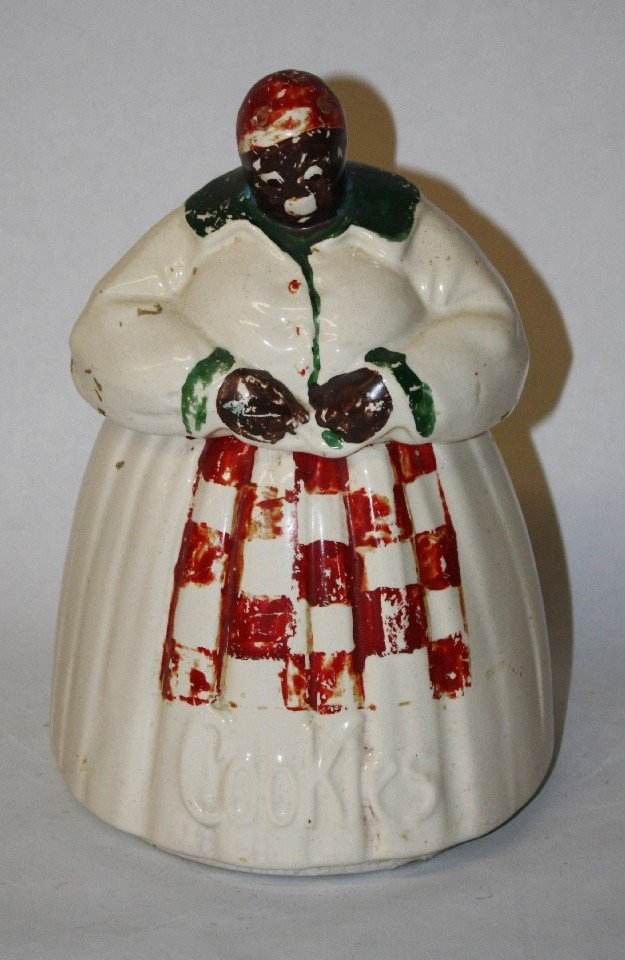 "2: McCoy cookie jar ""Aunt Jamima"""