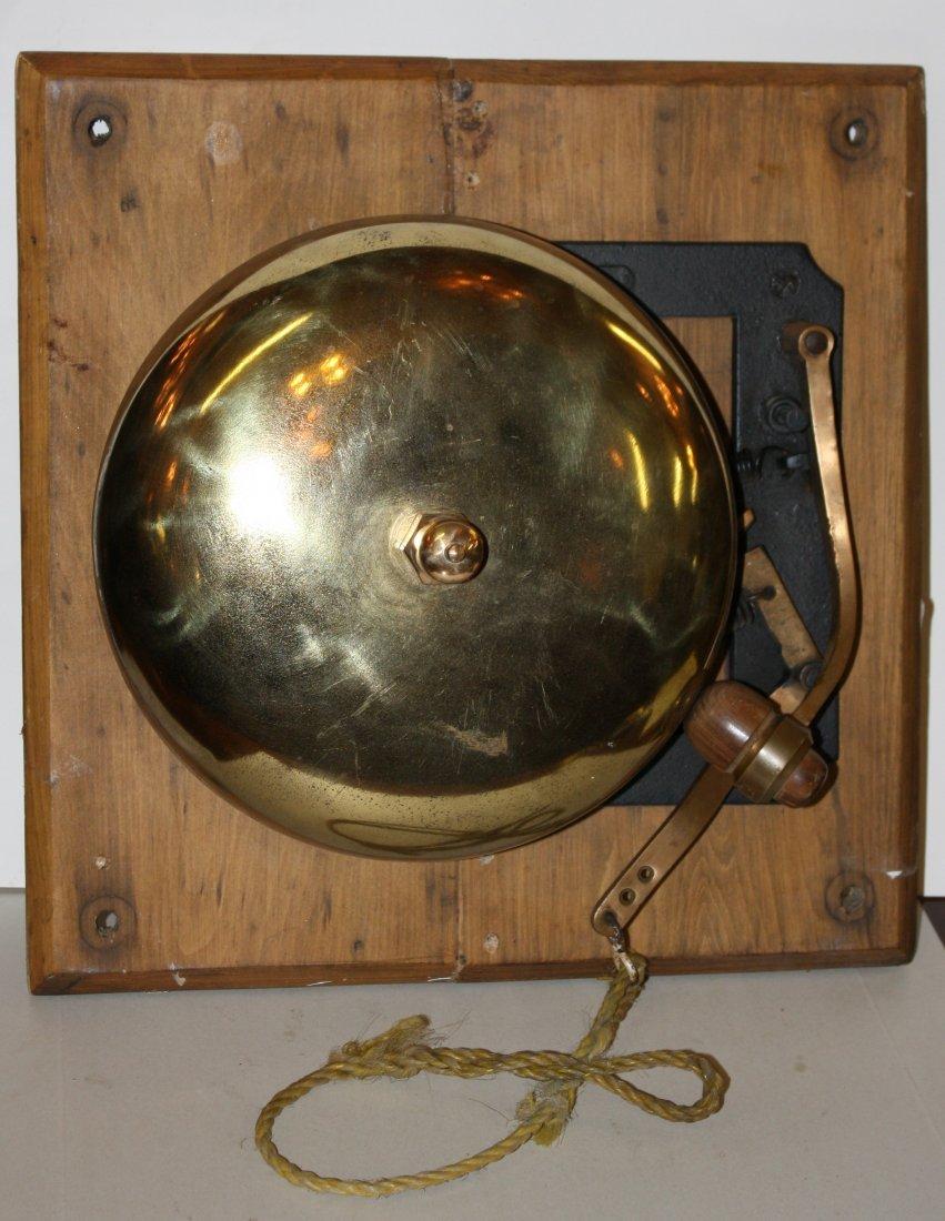 19: J. Morrison brass bell