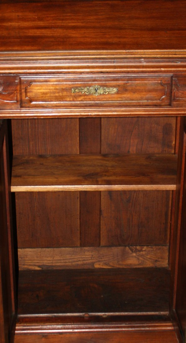 56: French mahogany lecturn/podium/maitre d stand - 4