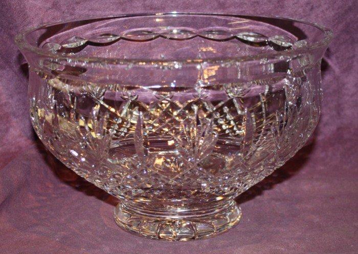 21A: Waterford cut crystal bowl