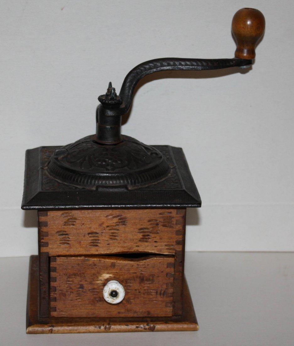 8: Vintage coffee grinder