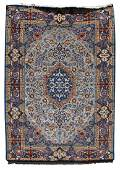 159: Persian silk Isfahan rug signed Hassan Dardashti
