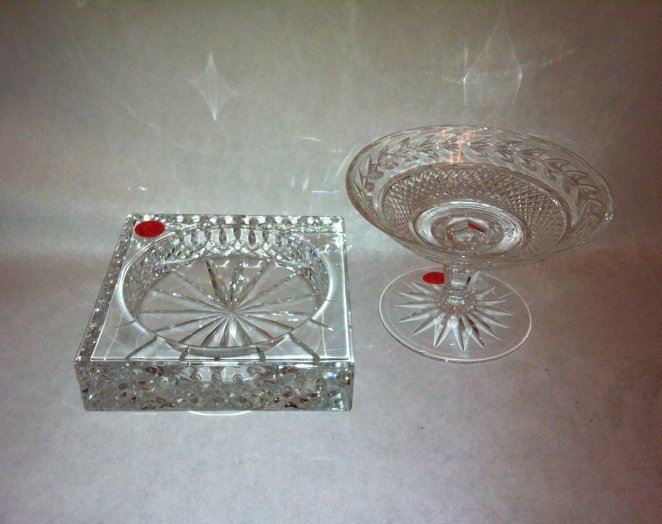 6A: Lot of 2 Waterford crystal pieces