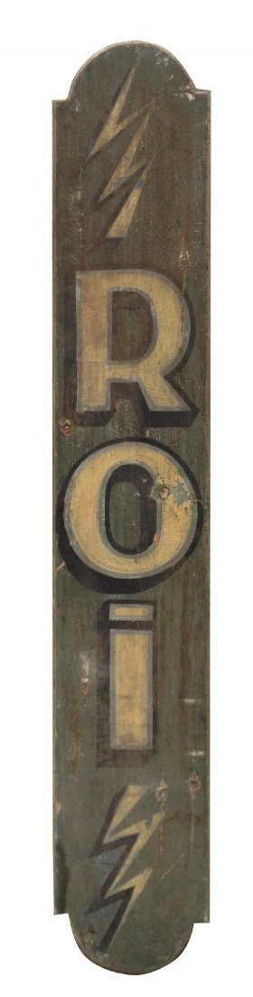 20: Vintage French advertising sign
