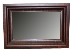 2: Early 20th c. American mirror in rosewood