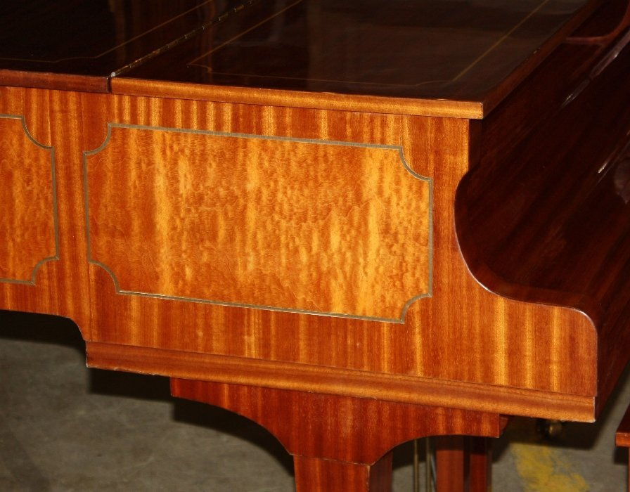 87: Story & Clark Cambridge baby grand piano with bench - 5