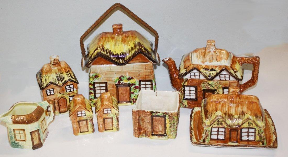 8pcs English Price Kensington cottageware