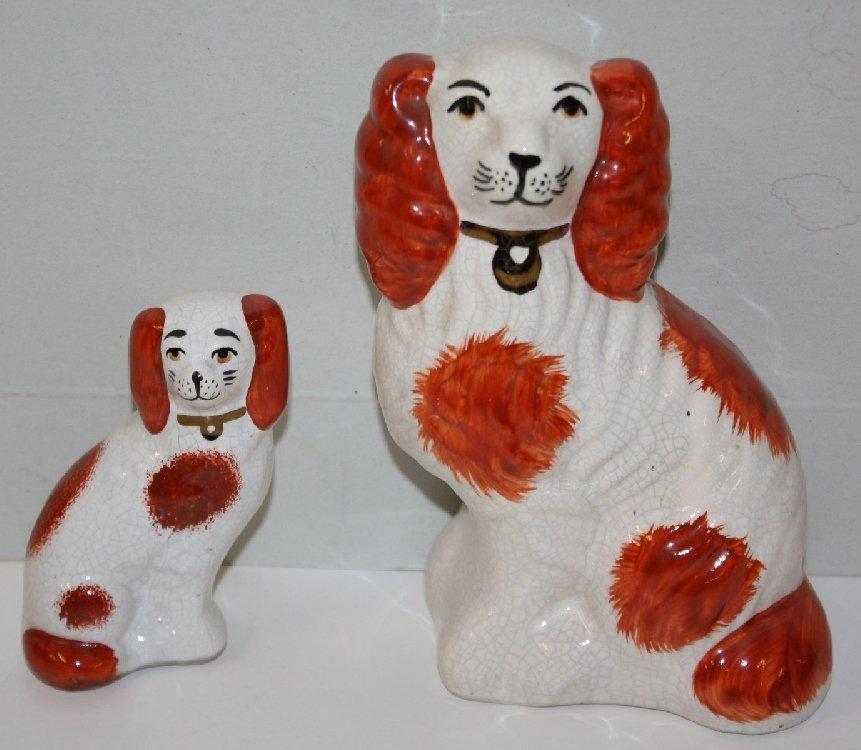 Companion Staffordshire dogs