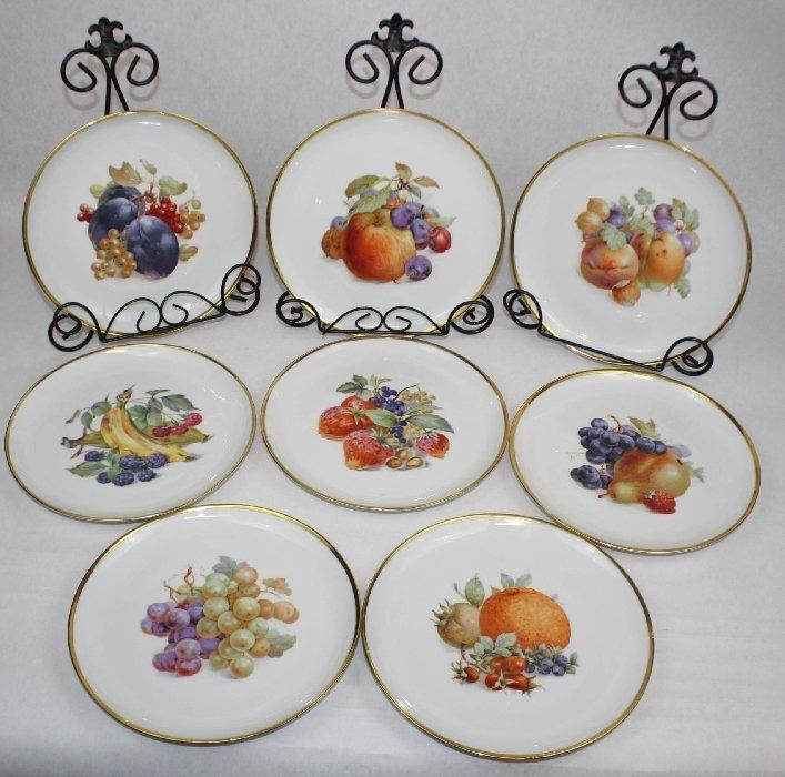Set of 8 Eschenbach Bavaria Germany-Baronet plates