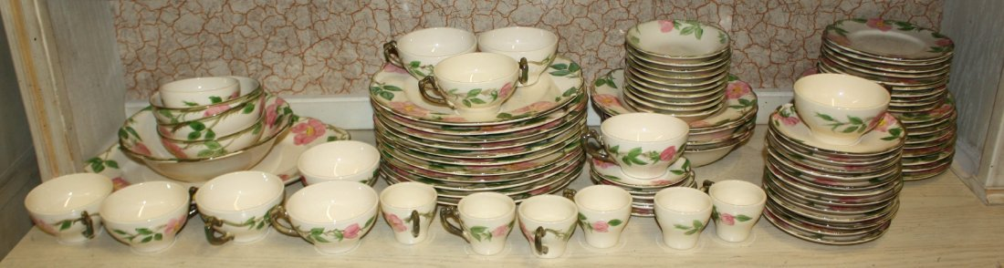 Franciscan Earthenware china service