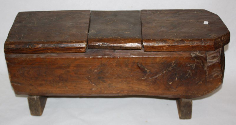 19th century rustic box