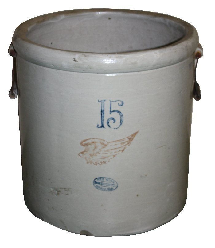 Red Wing 15 gallon stone ware crock