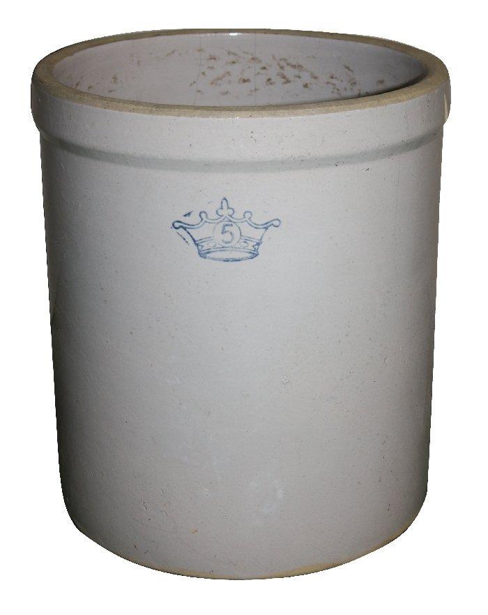 American 5 gallon stone ware crock