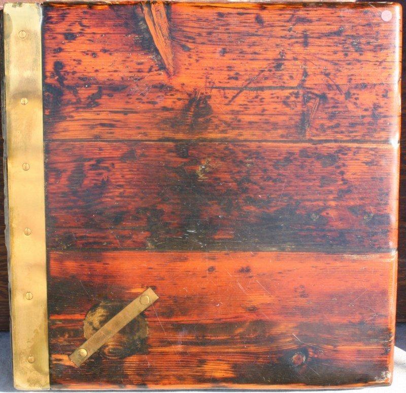 Vintage square ship hatch cover