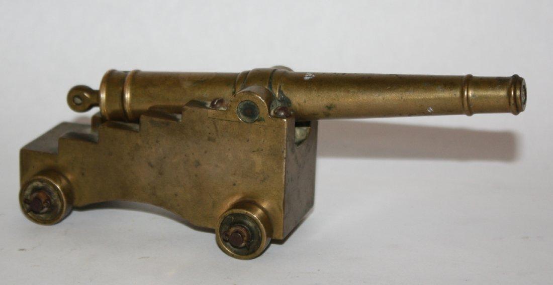 English miniature bronze cannon circa 1850-60
