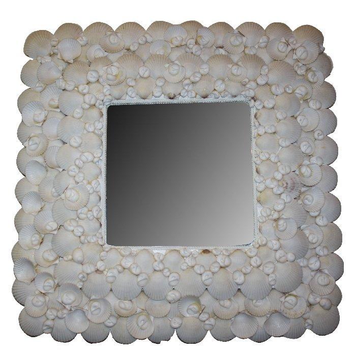 Custom made shell mirror
