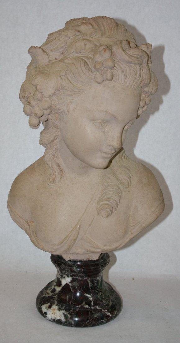 Terra cotta bust marked Studio Prof. G. Bessi - 2