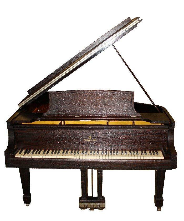 Steinway 5'8 grand piano. Circa 1921. Serial 207896