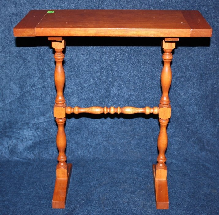 Small handmade side table by C.W. Swickley