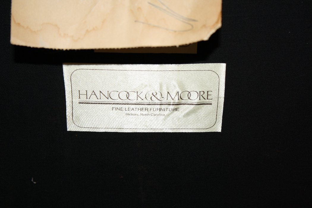 Hancock & Moore leather desk chair - 5