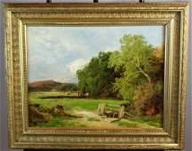 John Clayton Adams 18401906 oil on canvas