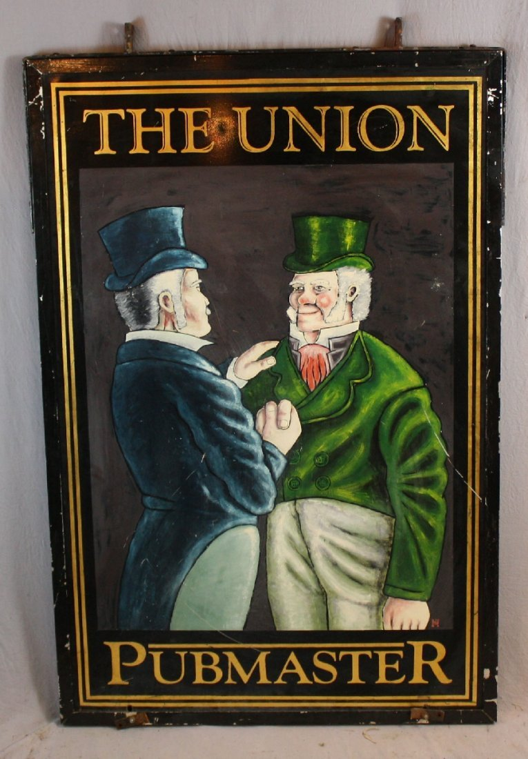English double sided pub sign-The Union Pubmaster