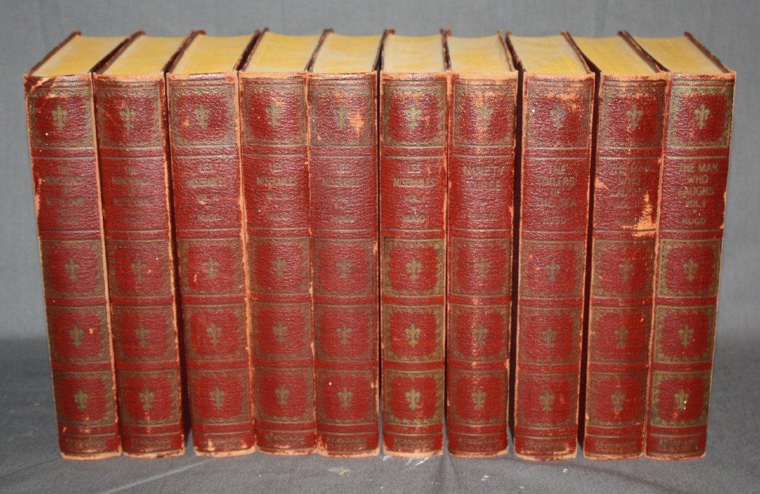 10 volume set of Victor Hugo books