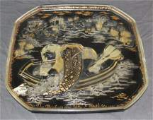 Bjorn Wiinblad for Rosenthal glass plate