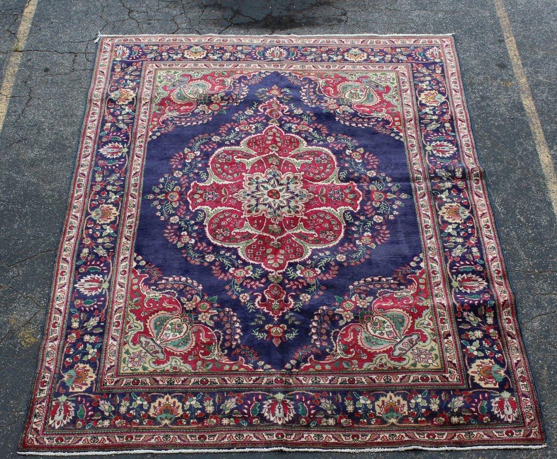 8'4 x 11'4 Persian Tabriz rug