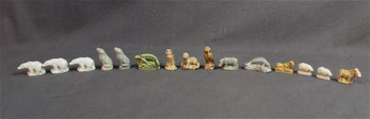 Collection of English Wade Whimsies