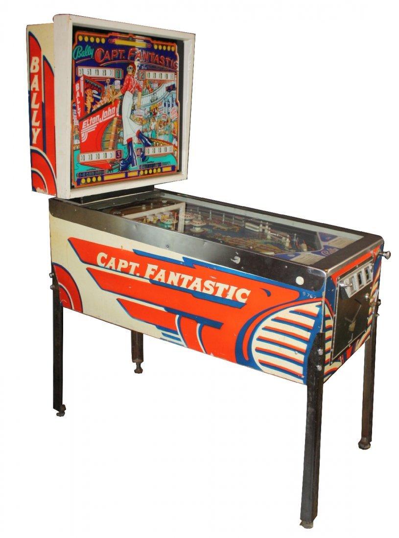 1976 Ballys Captain Fantastic pinball machine