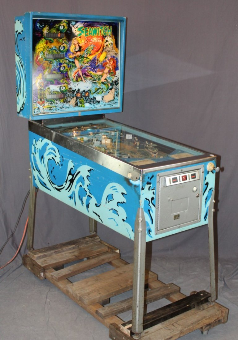 Seawitch pinball machine