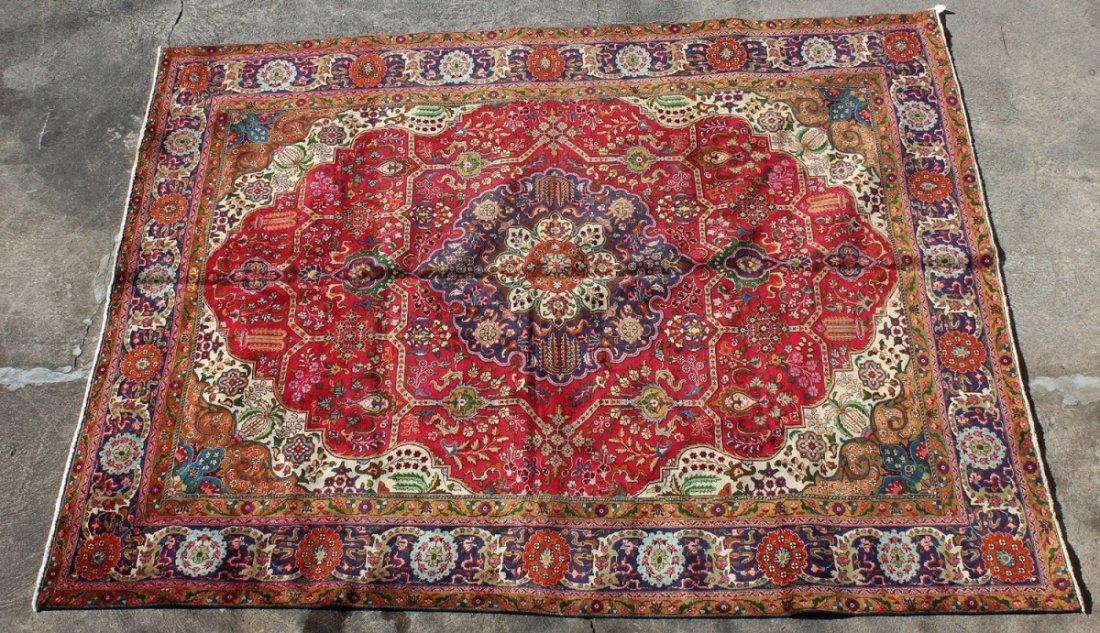 Persian 9'8 x 12'9 Tabriz rug