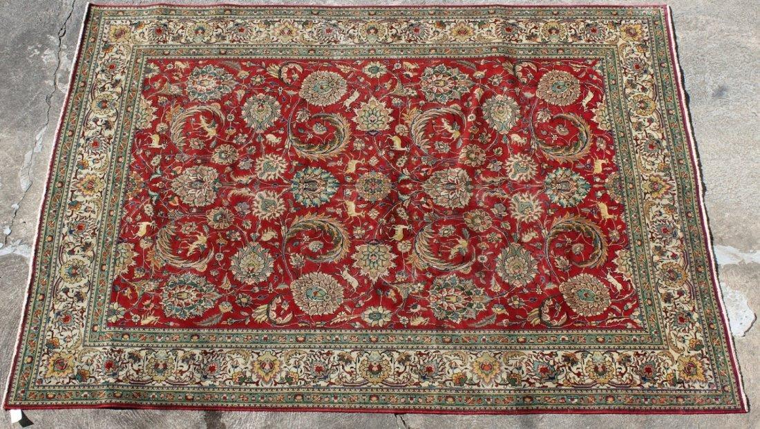 Persian 8'3 x 11'1 Tabriz rug