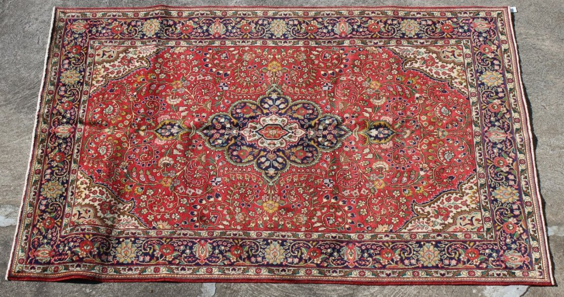 Persian 6'8 x 10' Tabriz rug