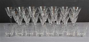 Lot of 30pcs Waterford crystal