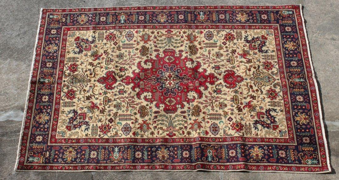 Persian 6'9 x 9'3 Tabriz rug