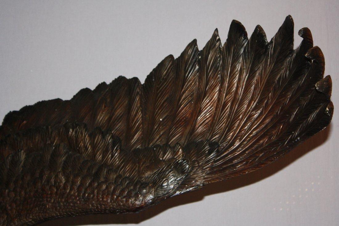 Grand scale soaring eagle bronze - 3