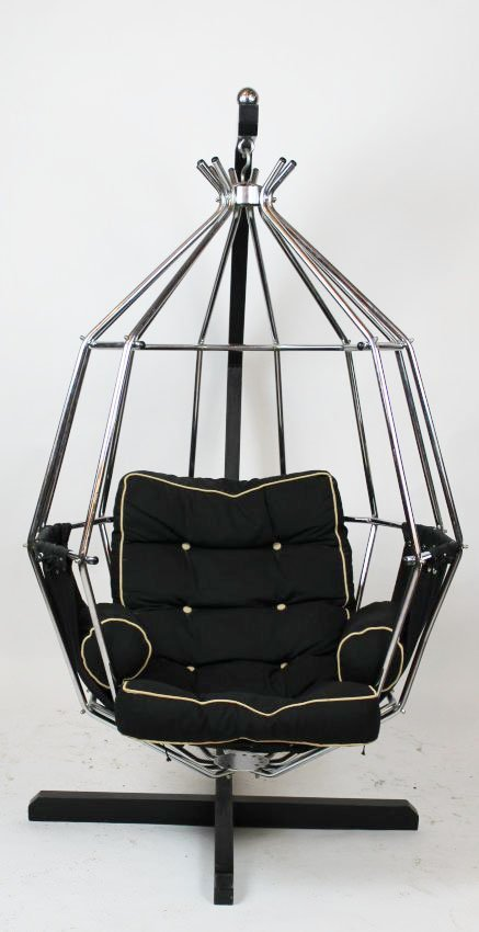 Ib Arberg hanging birdcage or Parrot chair