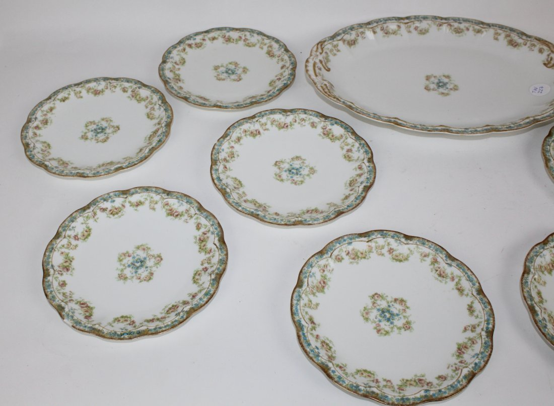 Haviland Limoges Wright Tyndale & Van Roden porcelain - 3