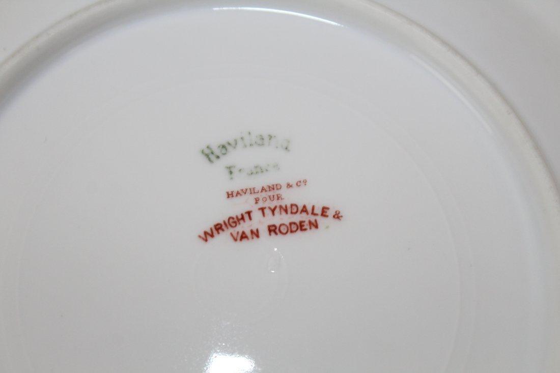 Haviland Limoges Wright Tyndale & Van Roden porcelain - 6