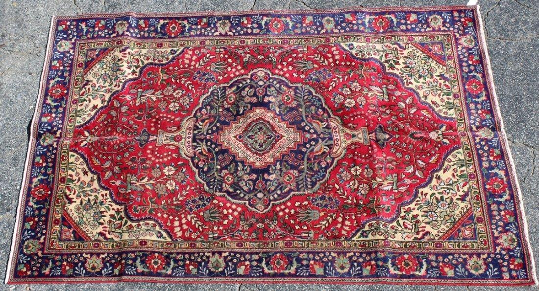 6'2 x 9'7 Persian Tabriz rug