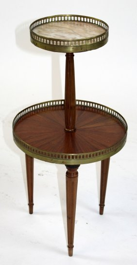 "French Louis Xvi Style ""serviteur Fidele"" Table"