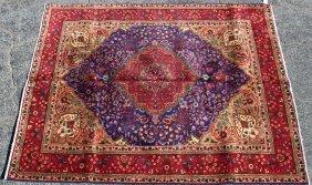 7'3 X 9' Persian Tabriz Rug