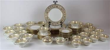 Wedgwood Florentine gold china service